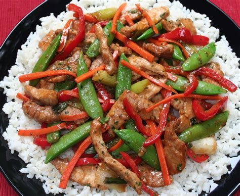 pork stir fry pork stir fry with green onion recipe dishmaps