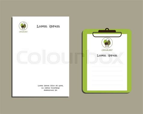 best size for a logo template professional corporate identity kit or business kit a4
