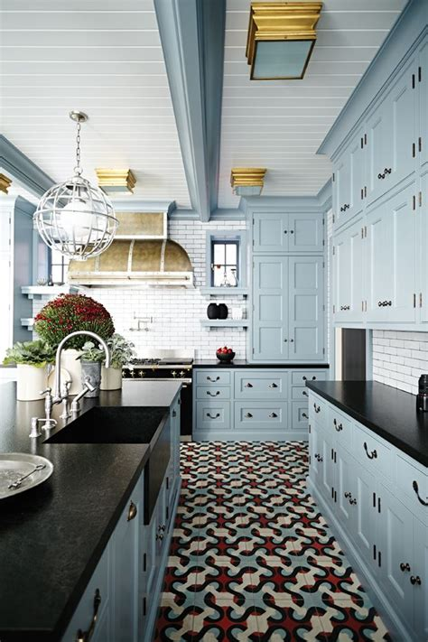 black kitchen cabinets ideas best 25 blue kitchen cabinets ideas on blue