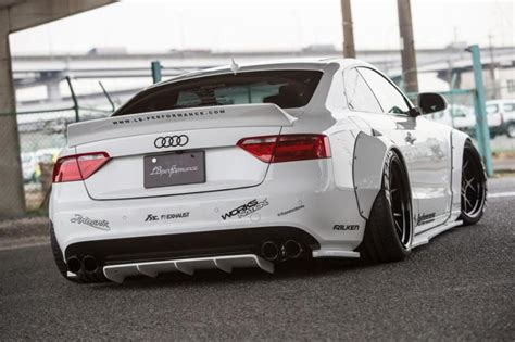 Modifikasi Audi Rs5 by Audi A5 Coupe Liberty Walk Performance Bodykit 2016 Tuning