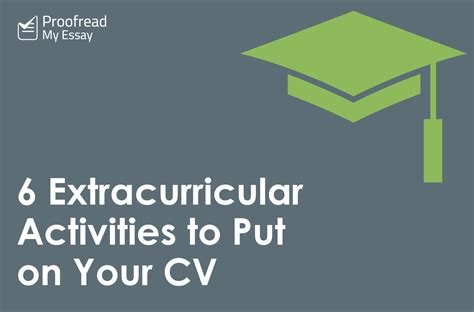exles of extracurricular activities to put on a resume
