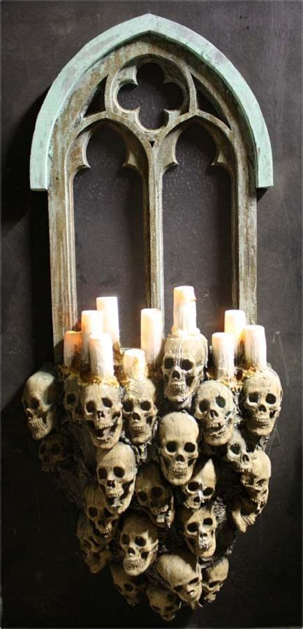 amazing candle holder ideas   scary halloween
