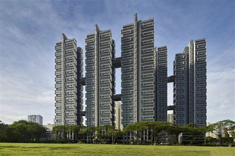 Singapore Solar Powered Sky Terrace Residential Towers