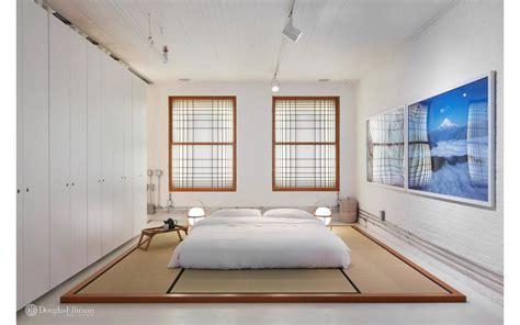 minimalist tribeca loft  japanese inspired design