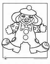 Clown Coloring Clowns Printable Colouring Template Printer Gangster Sheets Circus Cream Send Button Special Scary Popular Coloringtop sketch template