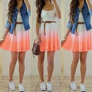 Tenue A La Mode : tenues mignon t pour les ados cute teen robe d 39 t ~ Melissatoandfro.com Idées de Décoration