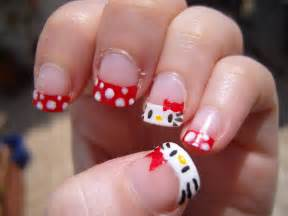 Cool hello kitty nail art ideas design ideaz