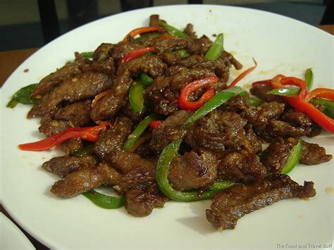 szechuan beef special chinese new year menu at f restaurant the food and travel buffthe food and travel buff