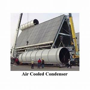 Air Cooled Condensers Or Dry Cooling Tower  Steam Or Steam Power Plant Water Usage
