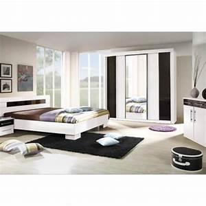 chambre a coucher complete dublin adulte design blanche With design chambre a coucher