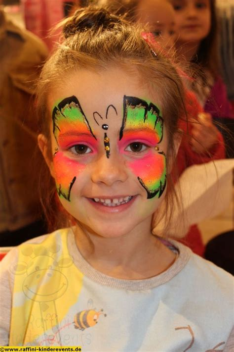 kinderschminken facepainting fuer kinder raffini