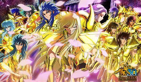 gold saints saint seiya  anniversary