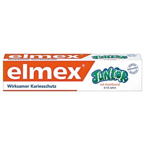 Elmex zobu pasta Junior, bērniem no 6-12 gadiem,75ml 46008 ...