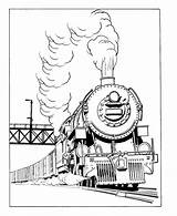 Train Coloring Trains Sheets Steam Pages Railroad Engine Locomotive Activity Sheet Freight Print Rail sketch template