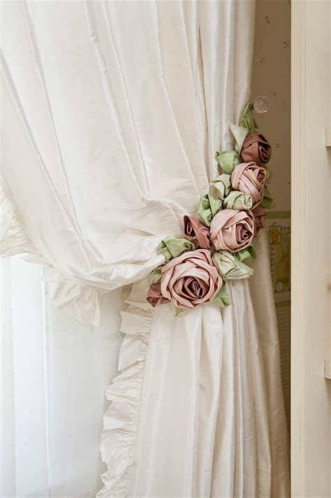 shabby chic curtain ties 17 best ideas about curtain tie backs on pinterest curtain ties curtains and curtain holder
