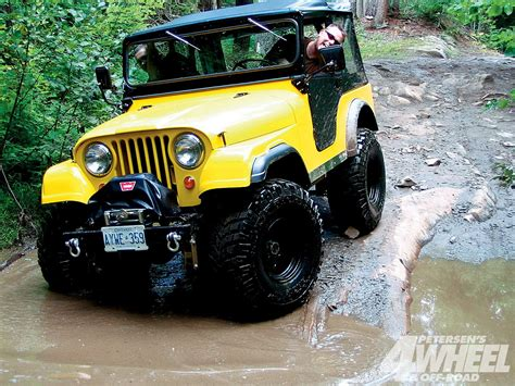 A 1967 Jeep Cj5, Looking Good In Yellow!