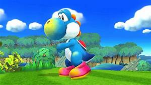 Yoshi Island Art  Yoshi  Super Smash Bros  For Wii U