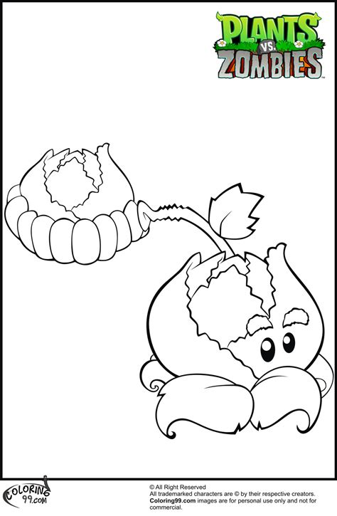 Coloring Zombies Plants by Plants Vs Zombies Coloring Pages Coloring Pages Gallery