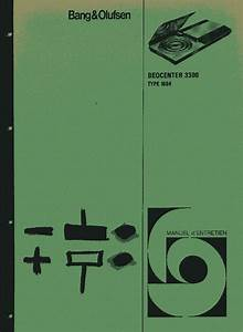 Bang Olufsen Beocenter 3300 Sch Service Manual Download