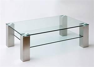 Glastisch Mit Holz : couchtisch edelstahl glas couchtisch glas holz edelstahl ~ Michelbontemps.com Haus und Dekorationen