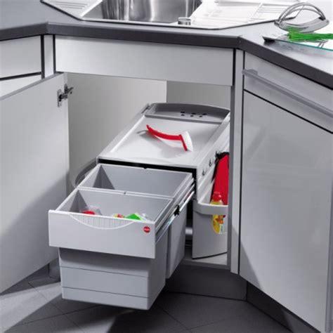 bloc prises cuisine poubelle cuisine pour meuble d 39 angle