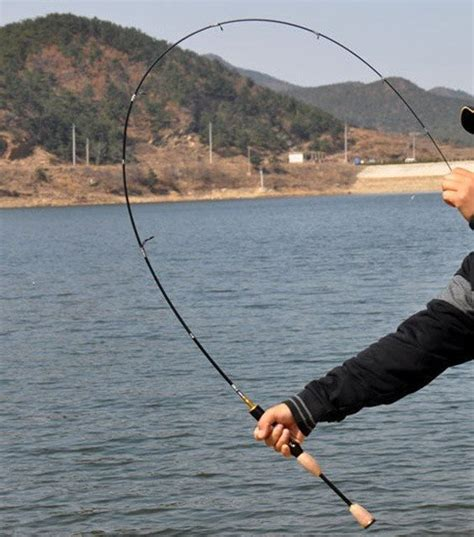 difference   spinning rod