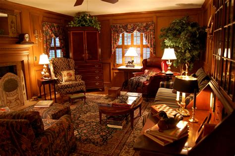 Country Style Living Room Decorating Ideas by Living Room Decorated In Country Style Hunt Theme