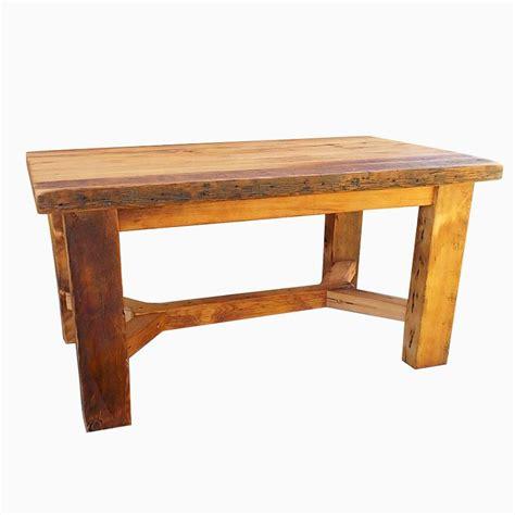 Handmade Trestle Base Heavy Farmhouse Table By Paul's