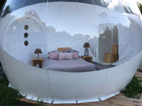 chambre bulle logement insolite la bulle d aunis le clos de landrais