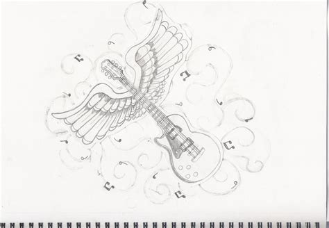 Guitar Tattoo Images & Designs