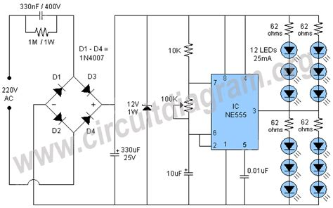 Led Light Circuit Diagram Images