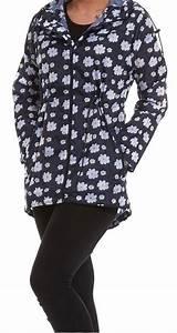 Leichter Morgenmantel Damen : damen leichter kapuze rei verschluss blumen g nsebl mchen regenjacke kagool ebay ~ Watch28wear.com Haus und Dekorationen