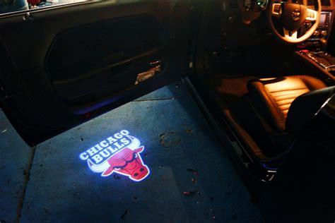 chicago bulls puddle logo lights projector led