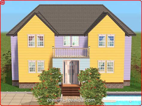 symmetrical houses the sims house downloads home ideas and floor plans part 3