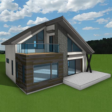 chalet en kit moderne free chalet en kit habitable with