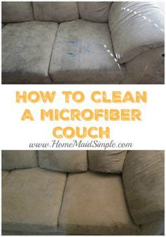 best way to clean microfiber sofa 1000 images about home simple on cleaning and broccoli curry