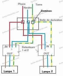 Schema Detecteur De Mouvement : schema branchement lampe avec detecteur de mouvement ~ Melissatoandfro.com Idées de Décoration