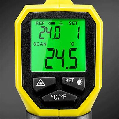 Bp17 Trotec Pirometr Pyrometer Pirometro Alarm