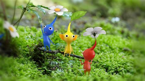 Pikmin 3 Wallpapers In Hd Video Game
