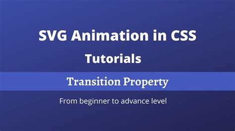Recently was involved in a project where we had to do animations. SVG Animation Tutorials | SVG Transition Property | CSS ...