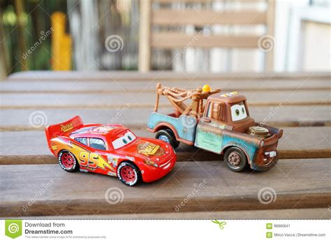 disney cars toys editorial photo image  table