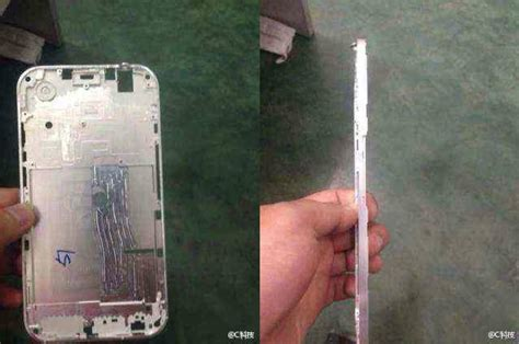 leaked photos of iphone 6 this could be the image of the iphone 6 frame bgr