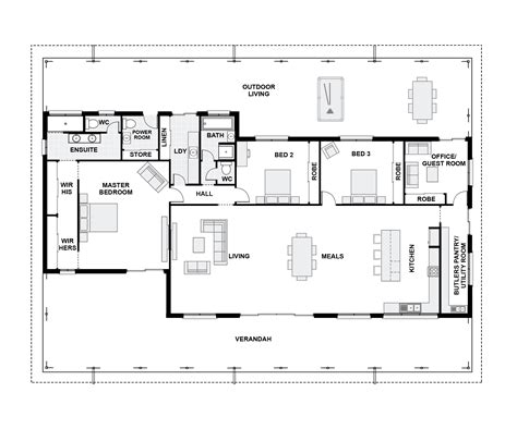 floor plans queenslander style homes small queenslander house plans house design plans
