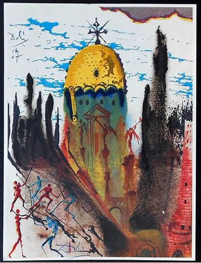 Dali Salvador Romeo Juliet Illustrations Surrealist Shakespeare