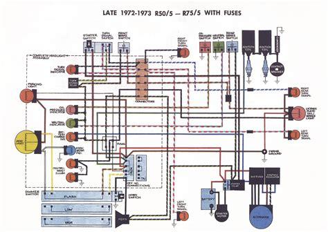 61 bmw 1973 r75 5 install electrical system brook s airhead garage