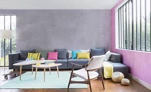 reveiller sa deco avec une peinture a effet nacre With deco cuisine avec chaise sejour grise