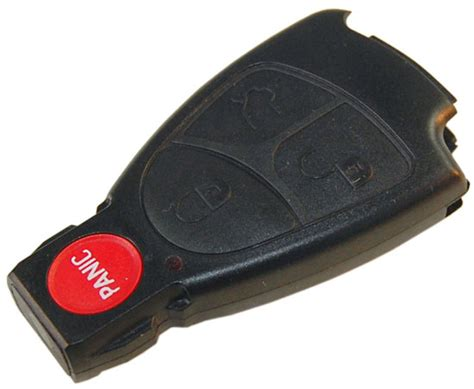 Hqrp Remote Key Keyless Fob Case For Mercedes-benz Clk320