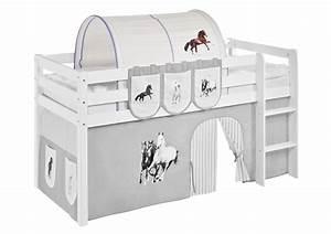 Tunnel Für Hochbett : lilokids tunnel pferde lila beige f r hochbett real ~ Orissabook.com Haus und Dekorationen