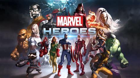 Marvel Heroes Game Wallpapers | HD Wallpapers | ID #12952