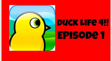 Duck Life 4-ep1-apple The Duck!
